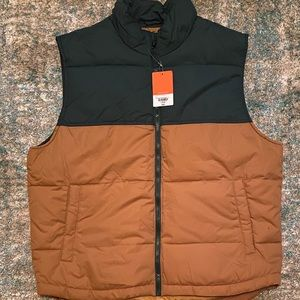 St. Johns Bay colorblock puffer vest